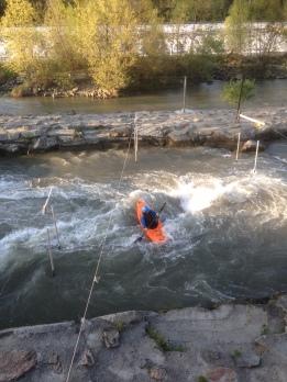 Kayak in Ivrea
