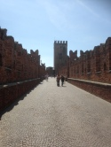 Walled bridge/ castle