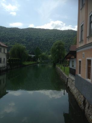 river through Kocevje